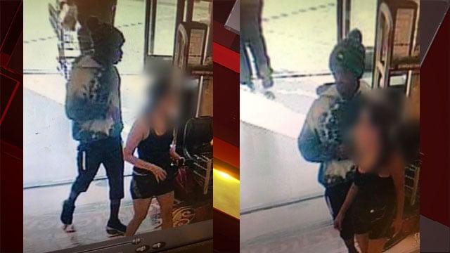 Surveillance image of sexual assault suspect near Desert Breeze Park. (Courtesy: Metro)