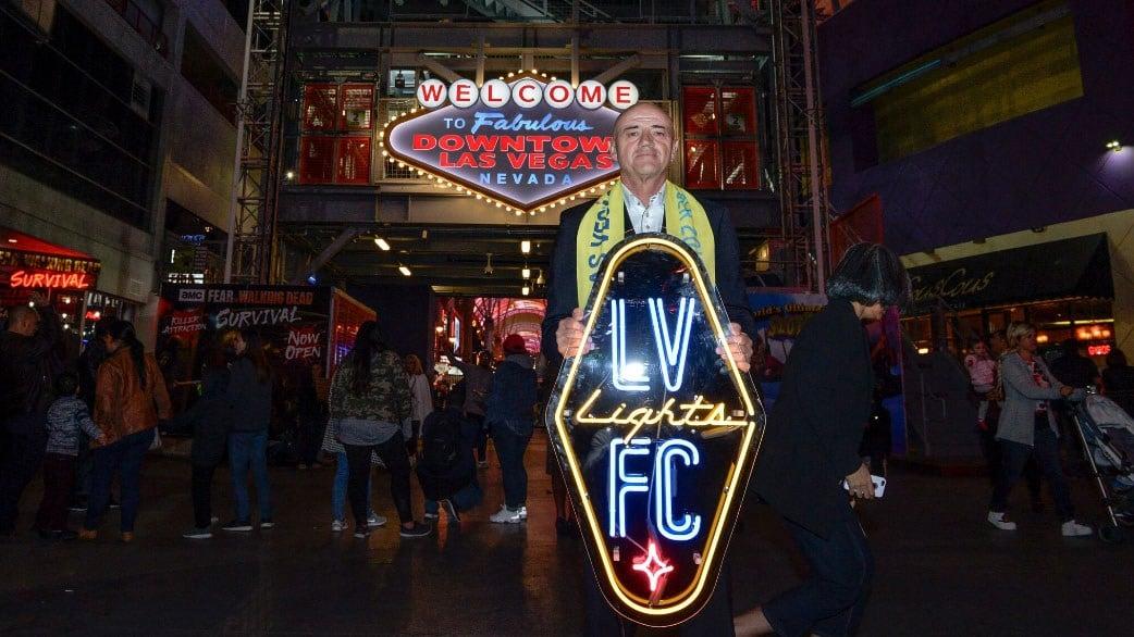 "Jose Luis Sanchez, AKA ""Chelis,"" tapped as Las Vegas Lights FC head coach. (Idris Erba/Las Vegas FC Lights)"