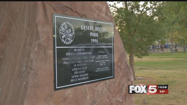 The victim of an early morning west Las Vegas park attack spoke out. (FOX5)