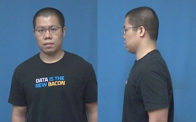 Booking photo of Wei Li. (Courtesy: City of Cuyahoga Falls)