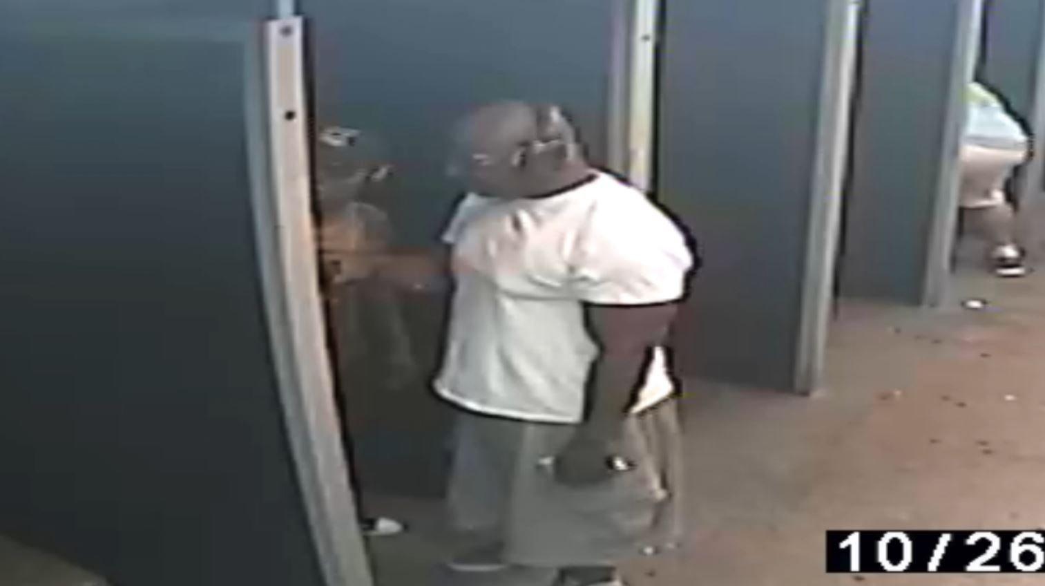 Jevon and Dori Hudson at a gun range hours after Moinee Wade's murder