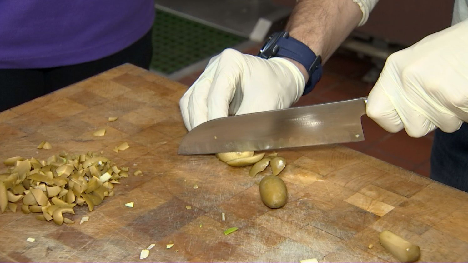 Preparations are underway at Catholic Charities for its annual Thanksgiving meal. (Gai Phanalasy/FOX5)