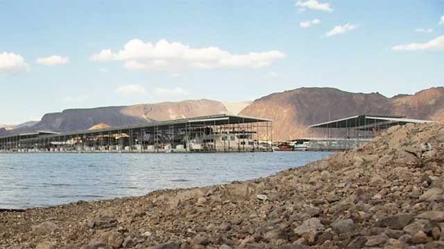 A portion of Lake Mead Recreational Area is shown in an undated image. (File)