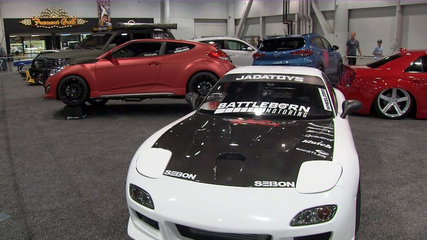The Motor Trend International Auto Show is in Las Vegas. (FOX5)