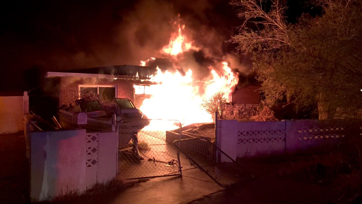 A fire caused $150,000 worth of damage to a home on Nov. 28, 2017. (Source: LVFR)