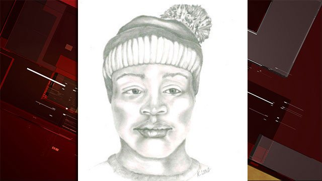 Police released a sketch of the suspect. (Clark County Park Police/Twitter)