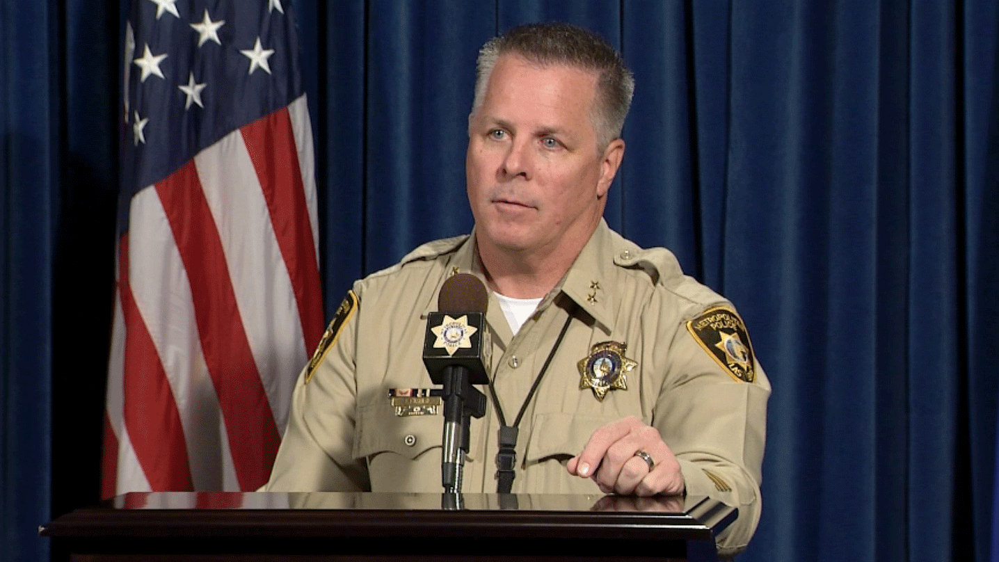 Assistant Sheriff odd Fasulo is leaving the department. (FOX5)