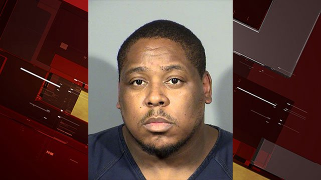 Lanarrd Laird, 29, was arrested by the LVMPD in connection with 17 armed robberies (LVMPD / FOX5).