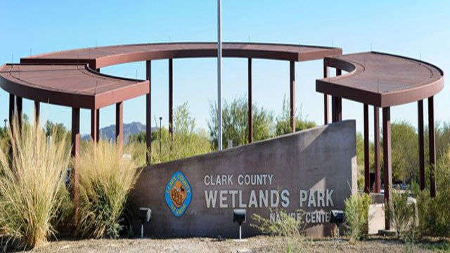 The entrance of Clark County Wetlands Park (Google / FOX5).