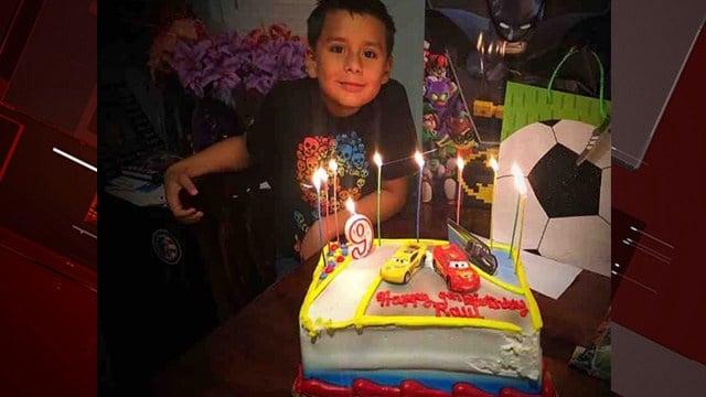 Police identified nine-year-old Raul Gamboa, killed in a crash Monday. (Photo: GoFundMe)