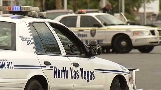 North Las Vegas police vehicles are shown in an undated image. (Source: NLVPD)