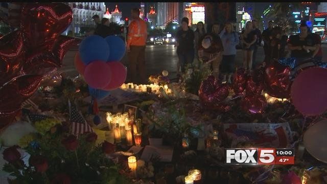 Survivors of 1 October have been joining together to help out victims of the shooting during the holidays. (FOX5)