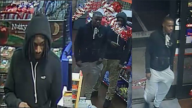 NLVPD released surveillance stills of two suspects who are wanted for questioning in the homicide investigation of an 18-year-old woman (NLVPD / FOX5).