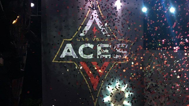 The WNBA is moving to the valley with the newly-named Las Vegas Aces. (Jason Westerhaus / FOX5)