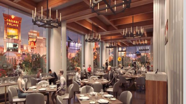 Screenshot of Hell's Kitchen restaurant proposed dining room. (Caesars Entertainment)