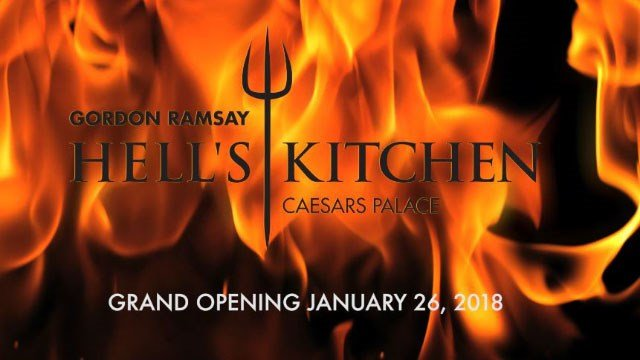 Screenshot of Hell's Kitchen restaurant planned opening date. (Caesars Entertainment)