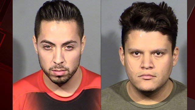 An investigation into stolen jewelry and handbags from an Encore hotel room valued at $250,000lead to the arrests of two suspects, a month after the burglary. (Photos: LVMPD)
