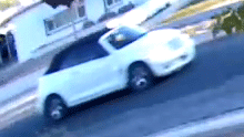 Police are searching for this vehicle in connection with a burglary. (Source: HPD)