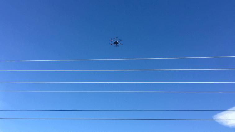 NV Energy is testing drones to improve equipment reliability. (NV Energy)