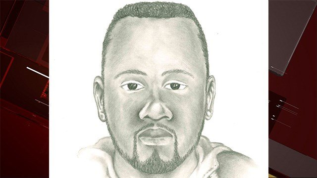 Metro Police released a sketch of a man wanted for killing a good Samaritan who tried to stop a robbery.(LVMPD)