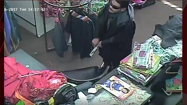 A man is caught on camera robbing a Las Vegas at gunpoint on Dec. 26, 2017. (Photo: Las Vegas Metropolitan Police Dept.)