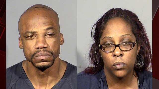 A couple was arrested in the shooting that killed two people and injured two othersat an apartment near Bonanza and Pecos Roads, according to Las Vegas Metropolitan Police. (Photo: LVMPD)