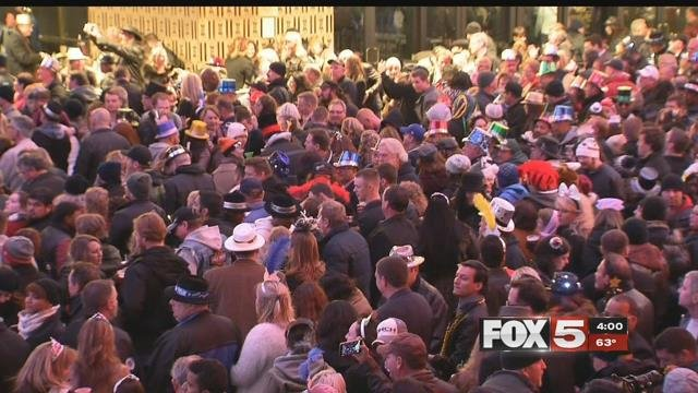 New Year's Eve in Las Vegas means hundreds of thousands of people will be going to clubs and bars to celebrate. (FOX5)