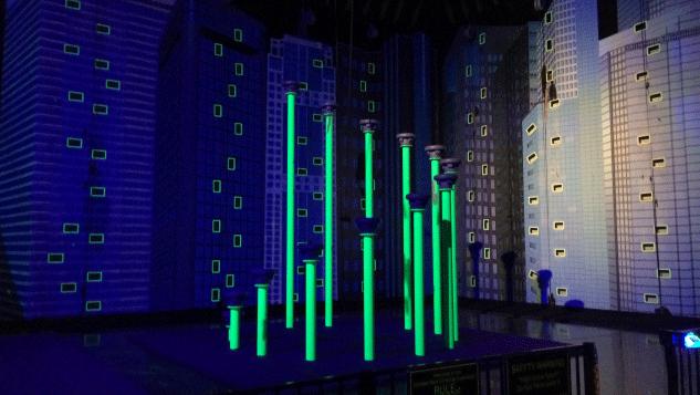 A course at Glowzone Las Vegas. (Mike Doria/FOX5)