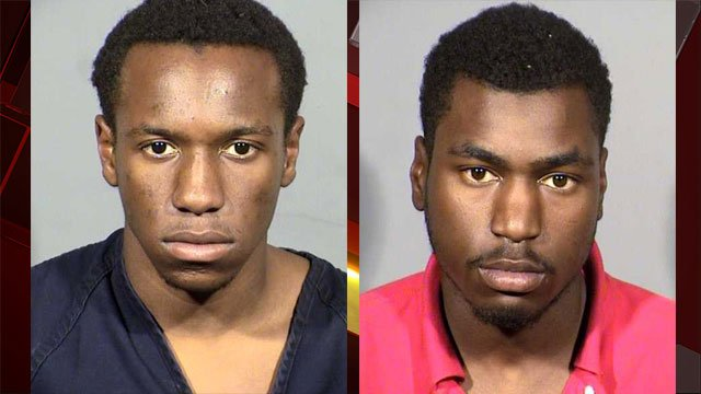 Tyresse Jackson (left) and Demonte Walter (right). (Source: LVMPD)