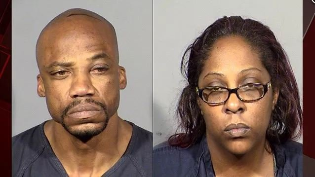 A couple was arrested in the shooting that killed two people and injured two others at an apartment near Bonanza and Pecos Roads, according to Las Vegas Metropolitan Police. (Photo: LVMPD)