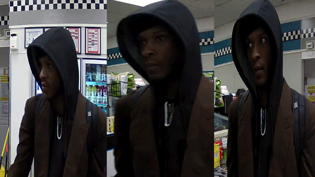 Metro released a surveillance image of a suspected robber. (Source: LVMPD)