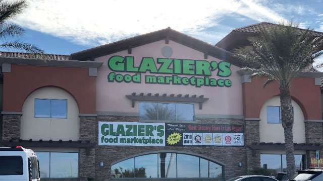Glazier's storefront pictured here on Jan. 3, 2018. (Dylan Kendrick/FOX5)