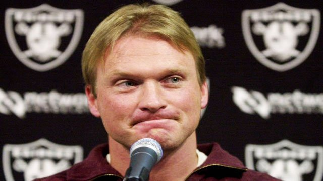 Gruden to coach NFL Raiders in record deal