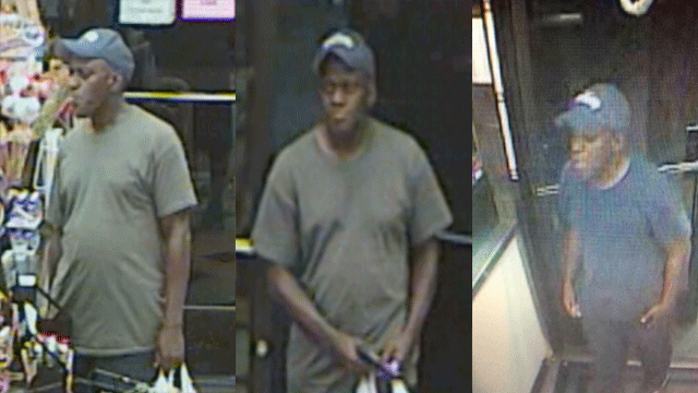 Police released images of a robbery suspect. (Source: LVMPD)