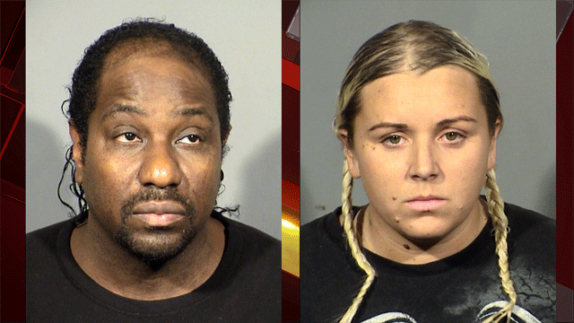 Keith Holman (left) and Kristin Pfaff (right). (Source: LVMPD)