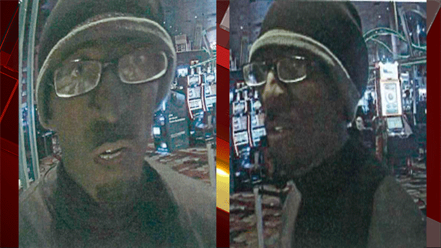 Metro released images of a man suspected of robbing the New York -New York hotel and casino. (Source: LVMPD)