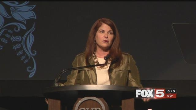 Mayor Debra March discusses the future of Henderson in the annual State of the City (FOX5).
