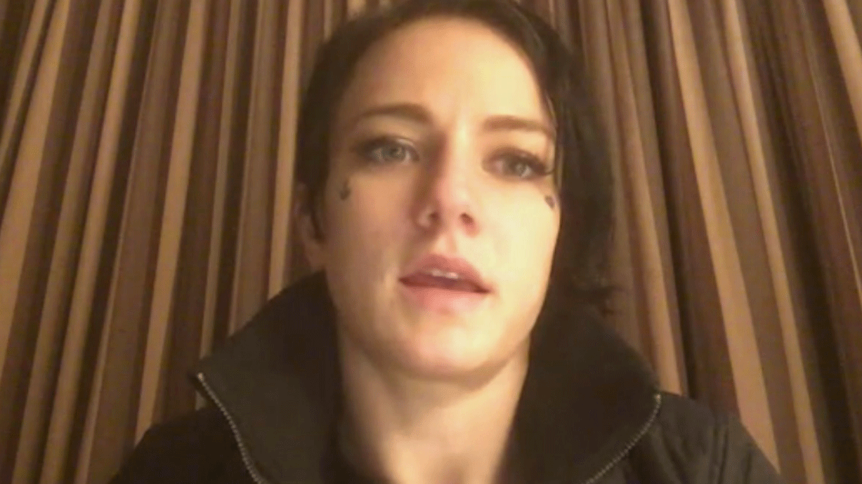 Burglars ransacked UFC fighter Jessica Rose-Clark's home in Las Vegas. (FOX5)