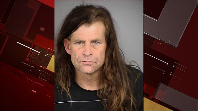 North Las Vegas Police arrested Christopher Robinson, 45, after a pipe bomb was found inside of a residence on Jan. 11, 2018. (Photo: NLVPD)