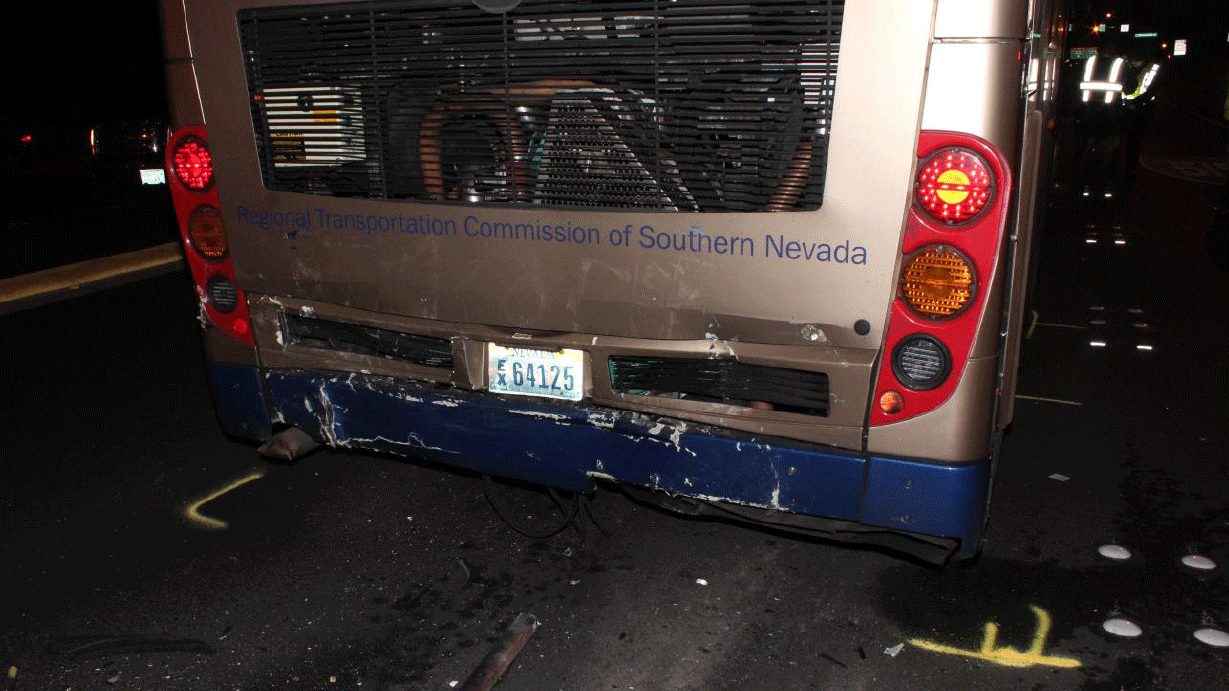 A 31-year-old man was killed after hitting a RTC bus. (Source: NHP)