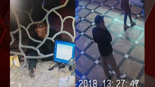 Metro released surveillance stills of an armed robber who targeted a casino cage (LVMPD / FOX5).