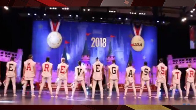 The UNLV dance team are the 2018 UDA College National Division IA Hip Hop Champions. (Photo: Varsity Spirit)