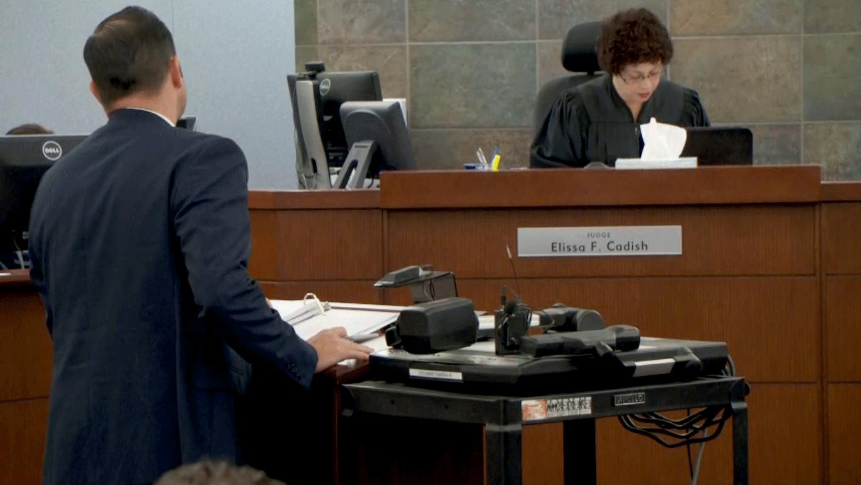 Judge Elissa Cadish listens to arguments on Jan. 16, 2018. (Brad Boyer/FOX5)