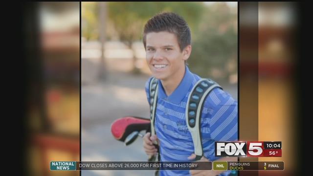 Quinton Robbins, 20, smiles in this undated photo (FOX5).