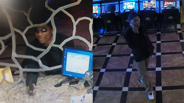 Police released surveillance images of a robbery suspect from Jan. 13, 2018. (Source: LVMPD)