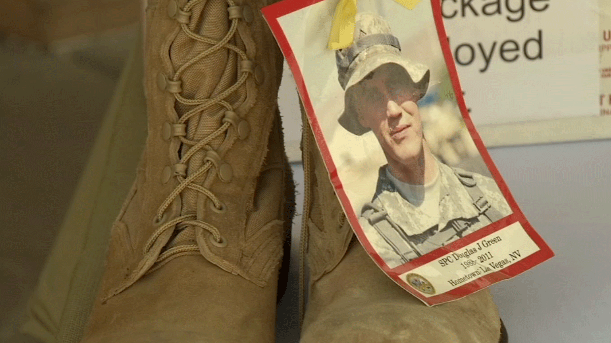 Donations are needed to reach a goal of 2,000 care packages to send to troops. (File/FOX5)