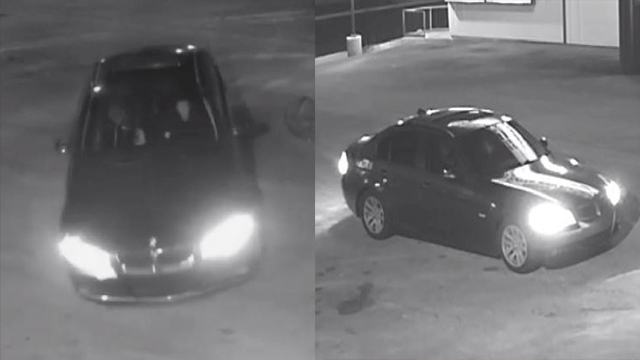 Metro police said the robbers left in a black BMW. (Source: LVMPD)