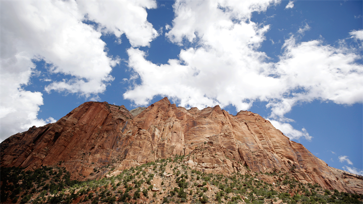 This Sept. 16, 2015, file photo shows Zion National Park, near Springdale, Utah. (AP Photo/Rick Bowmer, File)