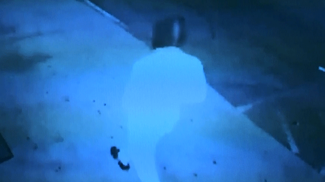 Police released a surveillance image of a man suspected of killing two homeless people and injuring two others. (Source:LVMPD)