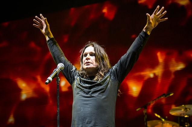 Ozzy Osbourne of Black Sabbath performs at Ozzfest 2016 at San Manuel Amphitheater on Sept. 24, 2016 in San Bernardino, Calif. (Courtesy Amy Harris/Invision/AP)